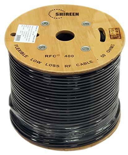 RFC Low loss 400 grade Coax cable RFC400 500ft spool ()