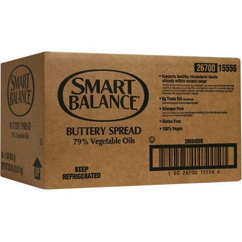 Smart Balance 79 Percent Vegetable Oil Buttery Spread, 1 Pound -- 30 per case. by Ventura Foods