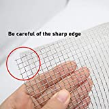 Stainless Steel Woven Wire Mesh Roll, Metal Mesh