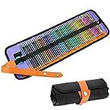 LingsFire Watercolor Pencils, 48 Vivid Colored Pencils Set Wet Watercolor Painting Multi Colored
