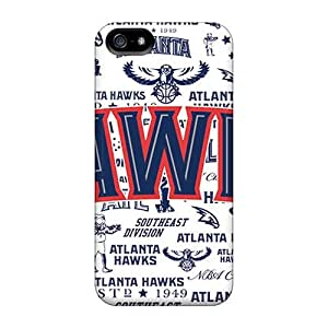 Durable Atlanta Hawks Back Cases/covers For Iphone 4/4S