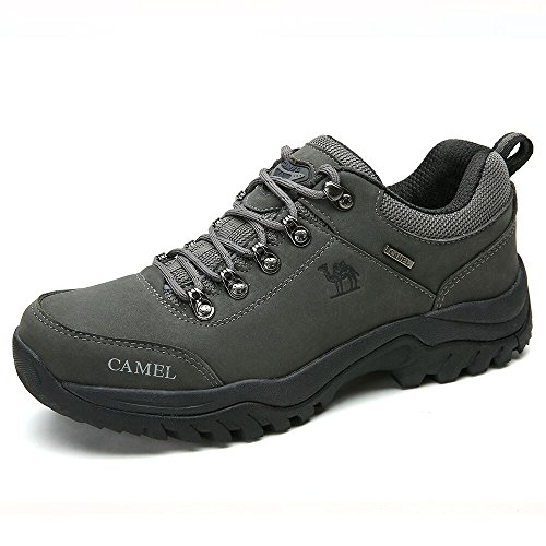 Zapatillas de para Aire Ideal Trabajo Deportes Damas Zapatos Senderismo Caza atlético Zapatos Escalada de Grey de Caminar al de para montaña Libre Hombres Zapatos de Adecuado Zn7q6xP