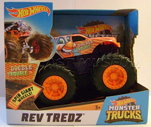 Double Trouble Clown HOT Wheels Monster Trucks REV TREDZ Monster JAM 2018 -