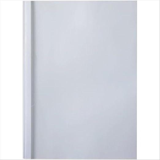 4 opinioni per GBC IB370151 Copertine per Rilegatura Termica Standard, 50 mm, 50 Pezzi, Bianco