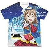 ラブライブ!サンシャイン!! 国木田花丸フルグラフィックTシャツ HAPPY PARTY TRAIN Ver. ホワイト XLサイズ