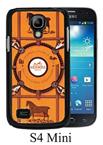 Unique Samsung Galaxy S4 Mini Case ,Hot Sale And Popular Designed Case With Hermes 10 Black Samsung Galaxy S4 Mini Cover Phone Case