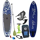 "Anahola Board Co. - Blue Lotus 4 - 10' 6"" x 32"" x 4"" Designed in Canada Inflatable Standup Paddleboard -COMPLETE PACKAGE"