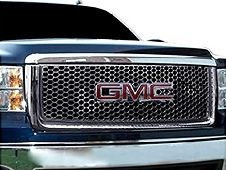Amazon.com: 2007-2012 Gmc Sierra Denali Chrome Round Mesh ...