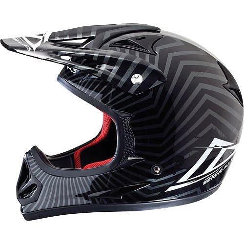 Azonic Helmet Bike Full Face Kamikaze Venom Black Large