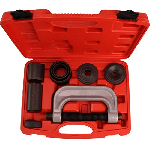 CARTMAN 4-in-1 Ball Joint Deluxe Service Kit Tool Set 2wd & 4wd Vehicles Remover Install, with 4-Wheel Drive Adapters by CARTMAN (Image #1)