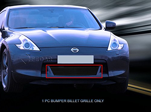 Fedar Lower Bumper Overlay Billet Grille Insert for 2009-2012 Nissan 370Z