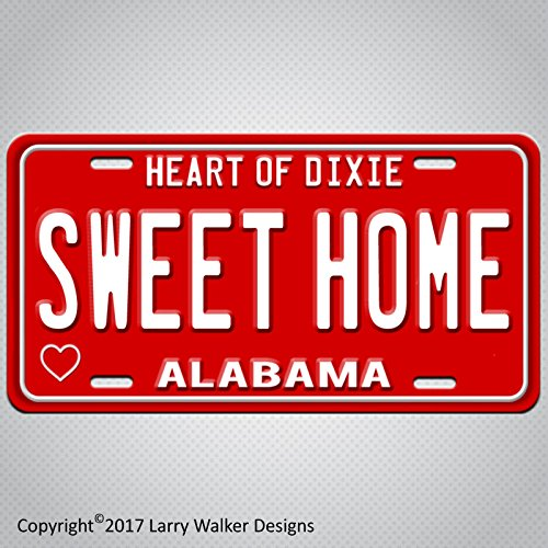 SWEET HOME Alabama 60s Sixties Aluminum License Plate Tag New ()