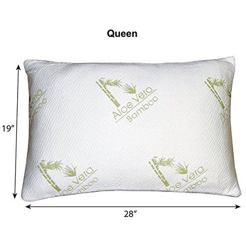 Aloe Vera Bamboo Pillow (Queen) Aloe Vera Pillow