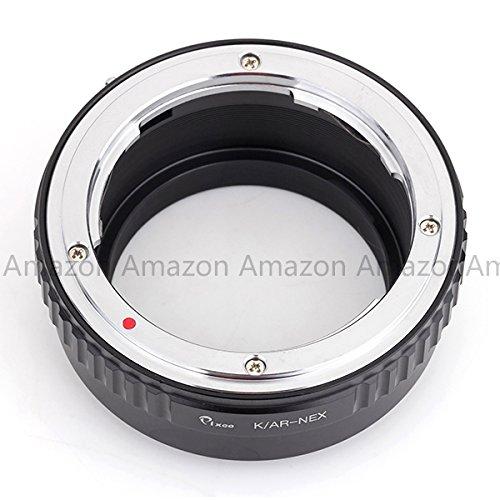 Pixco Lens Adapter For Konica AR Lens To Sony E Camera Adapter A5100 A6000 A5000 NEX-5T NEX-3 NEX-5 NEX-VG30 by Pixco