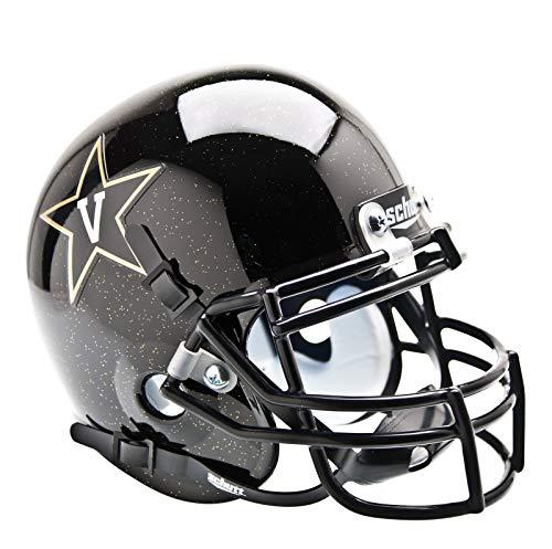 NCAA Vanderbilt Commodores Collectible Alt 2 Mini Helmet, Black