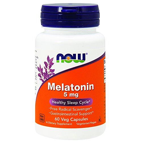 NOW Melatonin 60 Veg Capsules