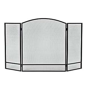 3 paneles plegable chimenea protector de puertas heavy - Protector chimenea ninos ...