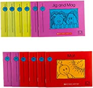 Bob Books - Set 1: Beginning Readers Box Set | Phonics, Ages 4 and up, Kindergarten (Stage 1: Starting to Read