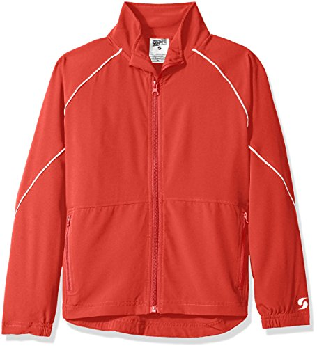 Youth Warm Up Jacket (Soffe Big Boys' YTH Warm up Jacket, Red, Large)