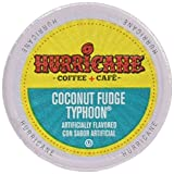 Hurricane Coconut Fudge Typhoon Coffee Capsule, Compatible with Keurig K-Cup Brewers, 24-Count