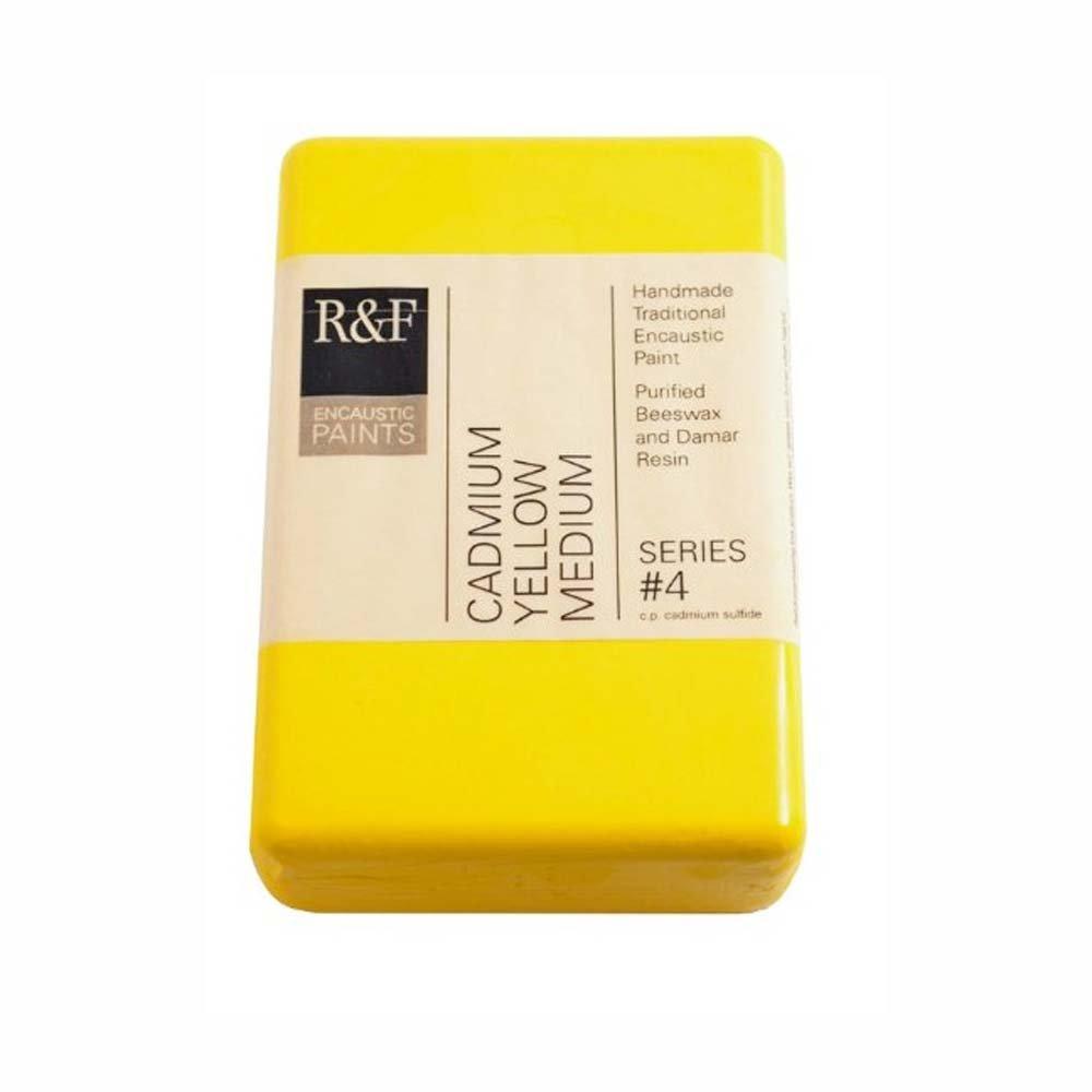 R&F Encaustic 333ml Paint, Cadmium Yellow Med
