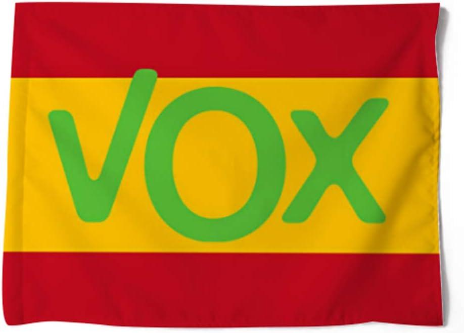 FTC Bandera Poliester España VOX. Medidas: 100 x 70 cm. por una Cara.: Amazon.es: Deportes y aire libre