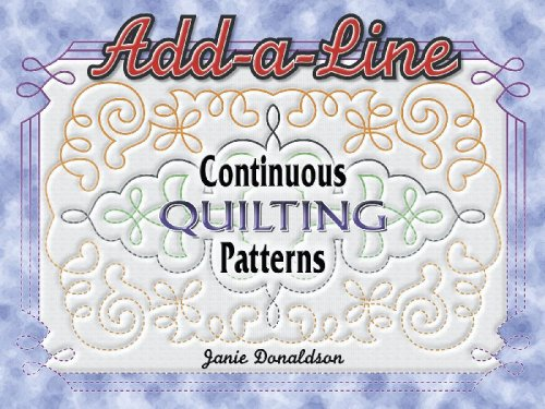 - Add A Line Continuous Quilting Patterns