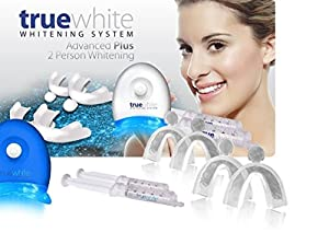 Get your teeth 'truewhite' for the Summer! You could pay full price at a retail outlet for this kit, or you could pay a fraction of the retail price and get it right here with free shipping! Finally a solution is here! The truewhite Advanced Plus sys...