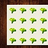 Broccoli Food Vegetable Nutrition Health Craft Stickers, 44 Stickers at 1.5...