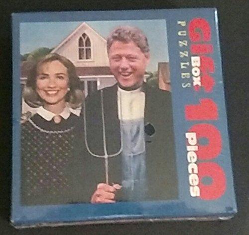 Case Bill Clinton (Arkansas Gothic Bill & Hillary Clinton 100 Pieces Gift Box Puzzle)
