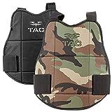 Chest Protector - V-TAC Reversible-Woodland/Black