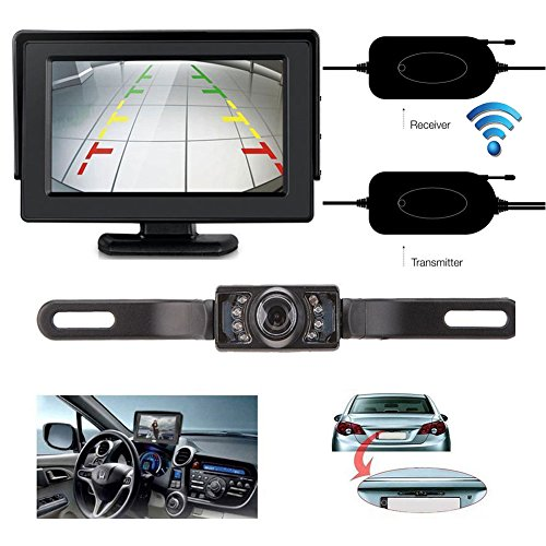 wireless car rear view camera kit - 4