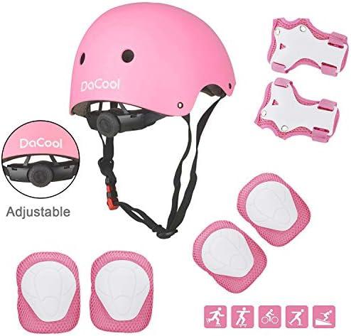 DaCool Protective Adjustable Rollerblading Skateboard product image