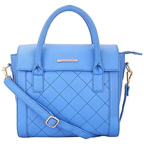 Lapis O Lupo Azureous Damen Handtasche Blue Sky Cartella Con Tasche Multiuso