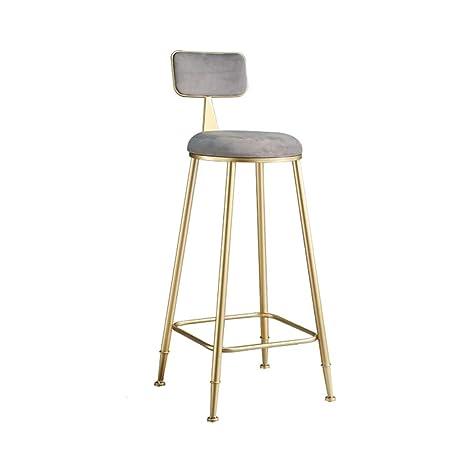 Terrific Amazon Com Jxyu Bar Stool With Backrest Modern Flannel Frankydiablos Diy Chair Ideas Frankydiabloscom