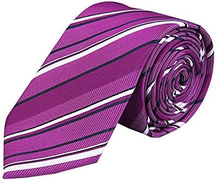Qichengdian - Corbata de Tela para Hombre, diseño de Rayas, Ideal ...