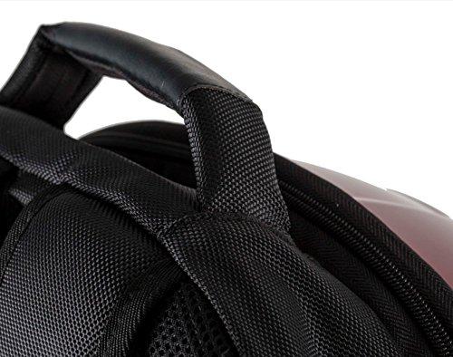 Marvel 3D Hardshell Backpack (Iron Man (LED Light)) by Mtime (Image #5)