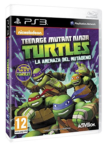 Teenage Mutant Ninja Turtles: La Amenaza Del Mutágeno: sony ...