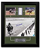 Ron Turcotte Autographed Autograph Secretariat Triple Crown Belmont Bet Ticket 19x23 Frame - Certificate of Authenticity Included