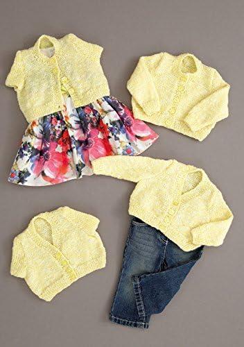 "Stylecraft Summer Breeze D//K Babies Jacket Knitting Pattern 8740 Sizes 12-20/"""
