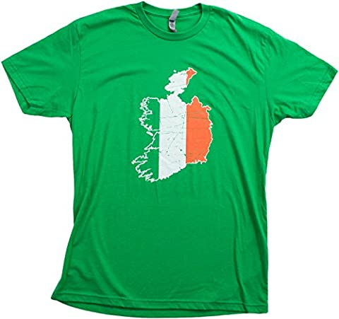 Ireland Pride | Vintage Style, Retro-Feel Irish Unisex T-shirt-Adult,XL - New Mens Southern Thread