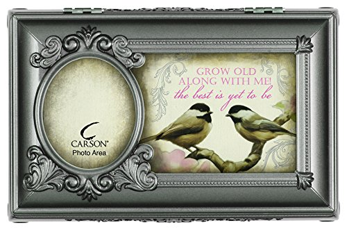 Carson Home Accents Best Is Yet to Be Music Box Playing Beautiful Dreamer, Large