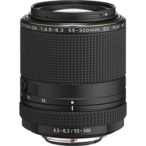 Pentax HD DA 55-300mm f/4.5-6.3 ED PLM WR RE Lens (Pentax Mount Screw)