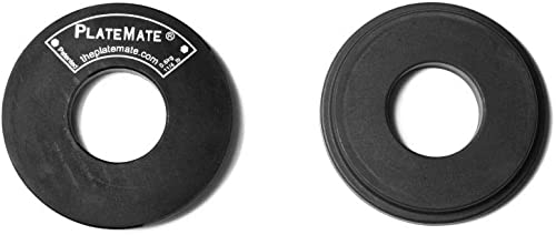 PlateMate 2-Pcs Magnetic Donut 1.25-Lb Workout Microload Weight Plate Add-On