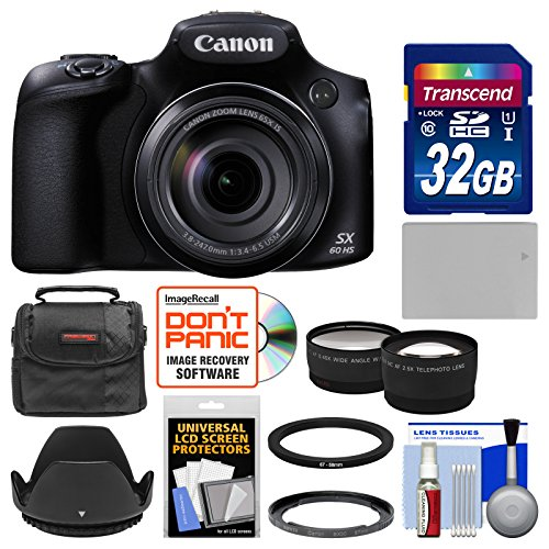 canon-powershot-sx60-hs-wi-fi-digital-camera-with-32gb-card-case-battery-hood-tele-wide-lens-kit