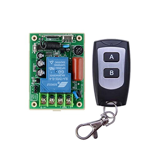Lejin 220VAC 30A Relay 3000W 2000W Wireless Remote Control Switch Receiver Transmitter 433MHz Remote Control lighting/Lamp LED water pump by Lejin