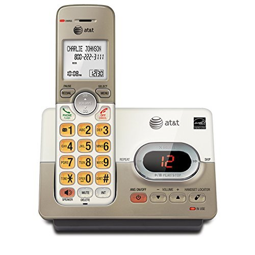 AT&T DECT 6.0 Expandable Cordless Phone with Answering System and Caller ID/Call Waiting