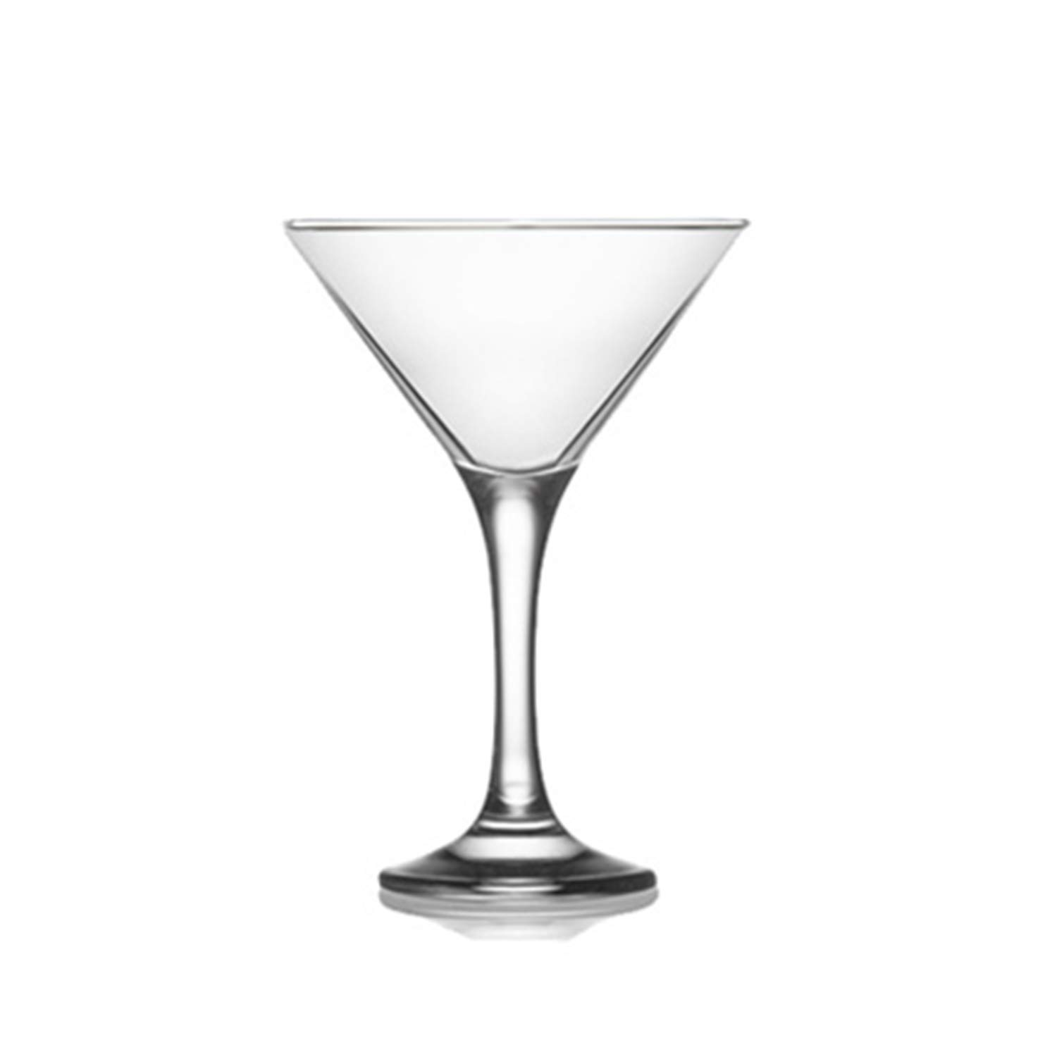 Epure Milano Collection 24 Piece Glass Set (Martini Glass (6 oz)) by epure