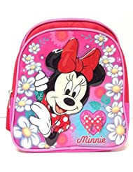 Minnie Mouse Flower Over Mini 10 Toddler Backpack