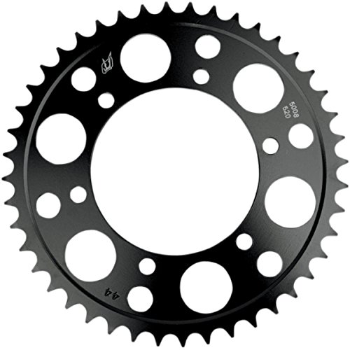Driven Racing Steel Rear Sprocket - 45T, Color: Black, Material: Steel, Sprocket Position: Rear, Sprocket Size: 520, Sprocket Teeth: 45 5068-520-45T